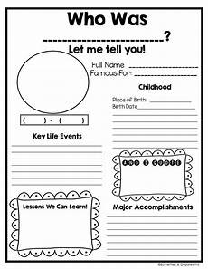 biography worksheet for kids 4th grade biography report template 1000 ideas about biographies pinterest fiction