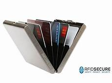 Secure Credit Card RF Theft Holder Wallet Money Protector