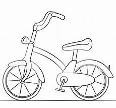 Mewarnai Gambar Sepeda Anak Kami