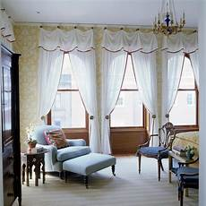 Swag Curtains And Valances Window Treatments Design Ideas
