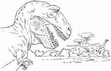 Ausmalbilder Dinosaurier T Rex Trex Ausmalbild