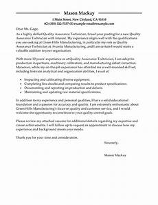 cover leter for qa internship free quality assurance cover letter exles templates from trust writing service