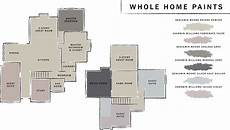 whole home paint plan sherwin williams benjamin revere pewter temperate taupe chel