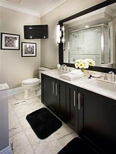 Black Grey And White Bathroom Ideas Check Out This Classic Black And White Vanity