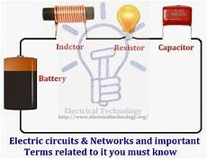 what is an electric circuit types of circuits network parts of circuit