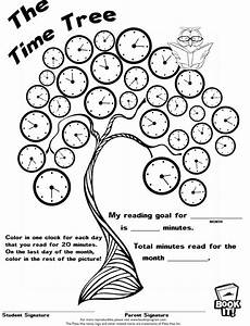 time reading worksheets 3166 book it program time tree printable great for keeping track of summer reading education