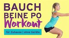 Bauch Beine Po Workout F 252 R Zuhause Ohne Ger 228 Te