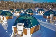 Iglu Hotel Finnland - arctic snowhotel glass igloos review lapland finland