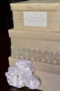 diy wedding card box tutorial handmade