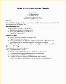 8 resume sle for high school students with no