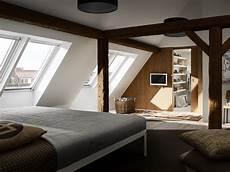 Schlafzimmer Ideen Dachschräge - moderne schlafzimmer planen und gestalten