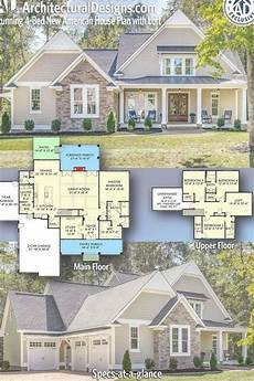american bungalow house plans architectural designs exclusive new american bungalow plan