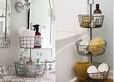 Wie Dekoriere Ich Mein Bad - ablage f 252 r badutensilien aus metalldraht badezimmer
