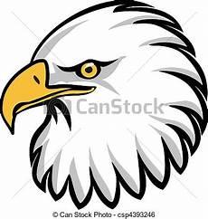 clip vecteur de aigle t 234 te stylis 233 dessin de une