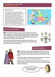 trade and community worksheet anglo saxon britain ks2 teaching resources