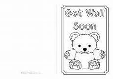 soon card templates get well soon card colouring templates sb8890