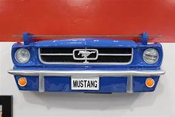 Sunbelt 1964 Ford Mustang Blue Front End Wall Shelf With