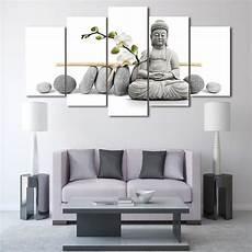 Moderne Toile Peinture Bouddhisme Mural Photos 5