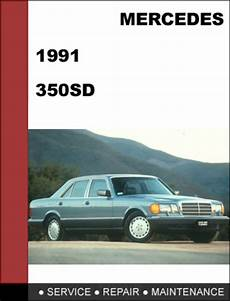 car owners manuals free downloads 1991 mercedes benz s class transmission control mercedes benz 350sd w126 1991 factory workshop service manual tradebit