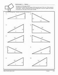geometry introduction worksheet 758 introduction to pythagorean theorem activity school in 2018 activities math and