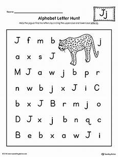 alphabet letter hunt letter j worksheet myteachingstation com
