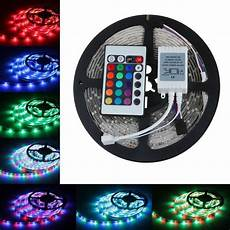 led stripe 5m 2835 rgb led strip light 5m 300smd with remote controller