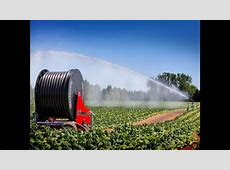 Cadman Irrigation Systems with Gun Cart   YouTube