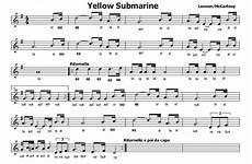 quel mazzolin di fiori accordi musica e spartiti gratis per flauto dolce yellow submarine