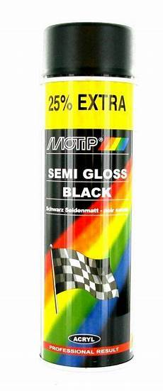 Bombe Peinture Noir Satin 233 Motip 500ml Peinture Sur La