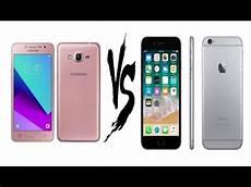 apple iphone 6 vs galaxy grand prime plus speed test