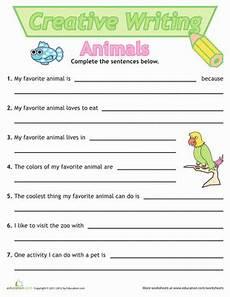 writing sentences activities worksheets 22110 sentence writing animals worksheet education