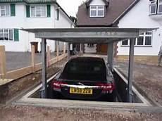 car elevator underground automatic car lift