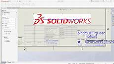 solidworks tech tip sheet format vs drawing sheet youtube