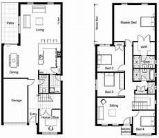small double storey house plans two storey building architectural drawing complete exle