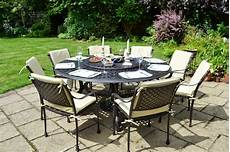table de jardin ronde comparatif tables de jardin 224 plateau tournant le