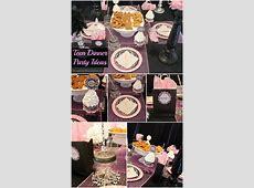 Teen Dinner Party Ideas   Moms & Munchkins