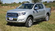 nueva ford ranger limited 4x4 test drive