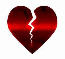 Malvorlage Gebrochenes Herz Gebrochenes Herz Stock Bild Colourbox