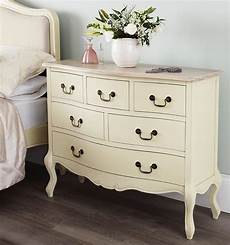 Shabby Chic Furniture - shabby chic chagne furniture chest of drawers