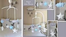 fabriquer support mobile bébé mobile bebe etoile