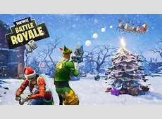 CHRISTMAS WINTER UPDATE / PATCH NOTES   Fortnite Battle
