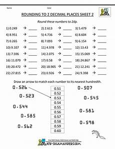 decimals rounding worksheets 7269 rounding decimal places rounding numbers to 2dp