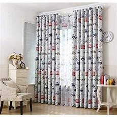 kinderzimmer gardinen jungen boy bedroom curtains