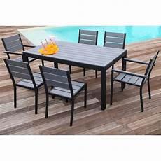 ensemble table et chaise floride salon de jardin table l 160 cm 2 fauteuils 4