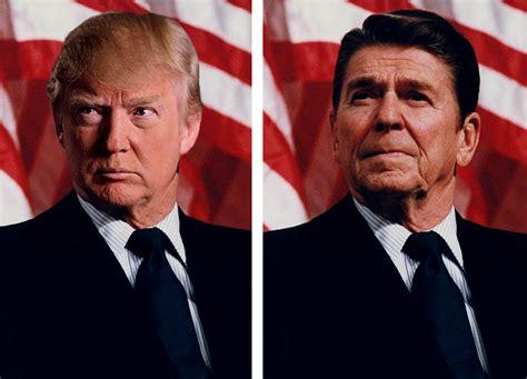 Ronald Reagan Donald Trump