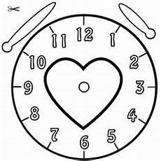 Uhr Vorlage Zum Basteln Grundschule