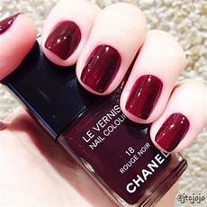 noir 018 chanel nail collection in 2019