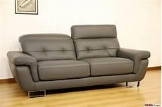 divani d occasione divano moderno 3 posti grigio in vera pelle in occasione