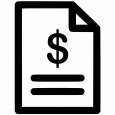 invoice svg png icon free 460124