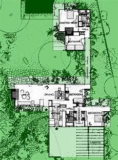 neutra house plans 20a bailey house richard neutra plan extant